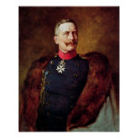 Portrait of Kaiser Wilhelm II Posters