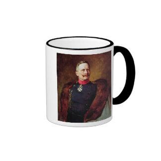 Portrait of Kaiser Wilhelm II Ringer Mug