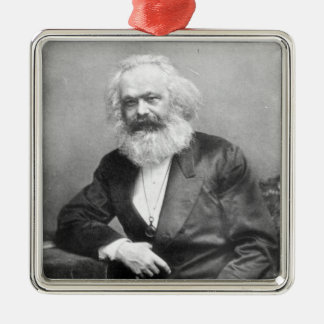 Portrait of Karl Marx Christmas Ornament