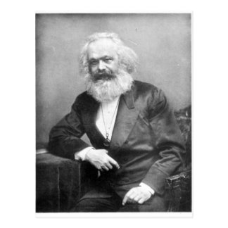 Portrait of Karl Marx Postcard