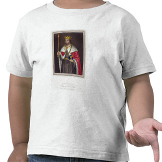 Portrait of King Edward II (1284-1327) Founder of Tees
