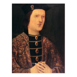 Portrait of King Edward IV of England Postcard