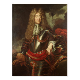 Portrait of King James II, c.1690 Postcard