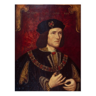 Portrait of King Richard III Postcard