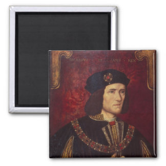 Portrait of King Richard III Square Magnet