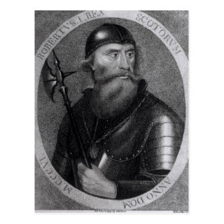 Portrait of King Robert I of Scotland Postcard