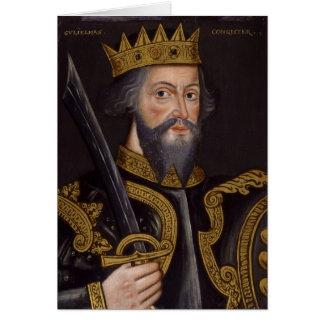 Portrait of King William I The Conqueror Cards