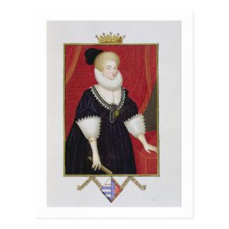Portrait of Lady Catherine Grey (c.1538-1668) Coun Postcard