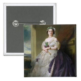 Portrait of Lady Middleton , 1863 15 Cm Square Badge