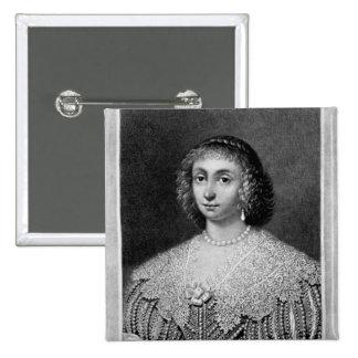 Portrait of Lady Viscountess Falkland 15 Cm Square Badge