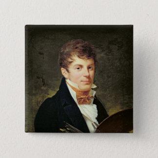 Portrait of Lancelot Theodore Turpin de Crisse 15 Cm Square Badge