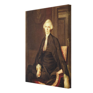 Portrait of Laurence Sterne Canvas Print