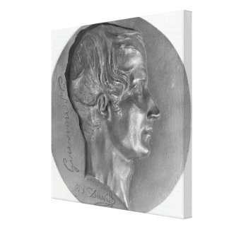 Portrait of Laurent de Gouvion Saint-Cyr Canvas Print