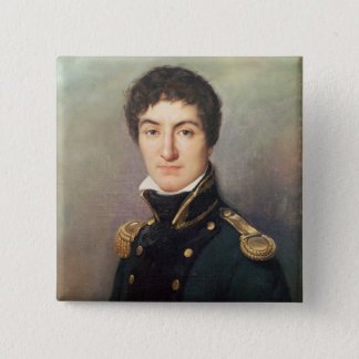 Portrait of Lazare Nicolas 15 Cm Square Badge