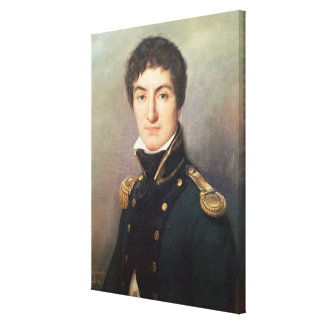 Portrait of Lazare Nicolas Canvas Print