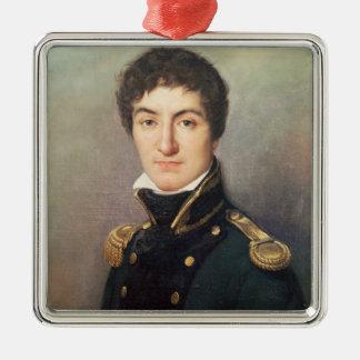 Portrait of Lazare Nicolas Christmas Ornament
