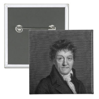 Portrait of Lazare Nicolas Marguerite Carnot 15 Cm Square Badge