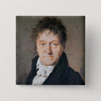 Portrait of Lazare Nicolas Marguerite Carnot 15 Cm Square Badge