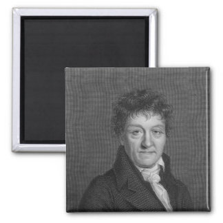 Portrait of Lazare Nicolas Marguerite Carnot Square Magnet