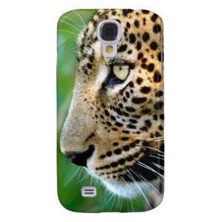 Portrait Of Leopard (Panthera Pardus) Galaxy S4 Case