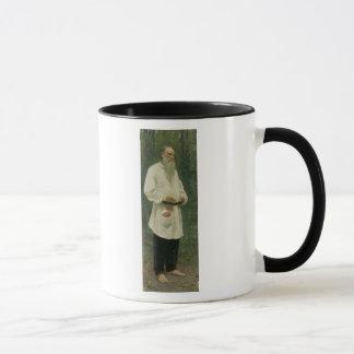 Portrait of Lev Tolstoy  1901 Mug
