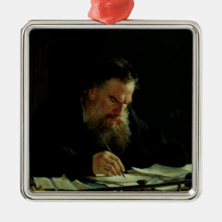 Portrait of Lev Tolstoy Christmas Ornament