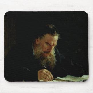 Portrait of Lev Tolstoy Mouse Mat