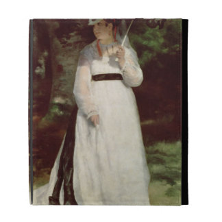 Portrait of Lise, 1867 iPad Case