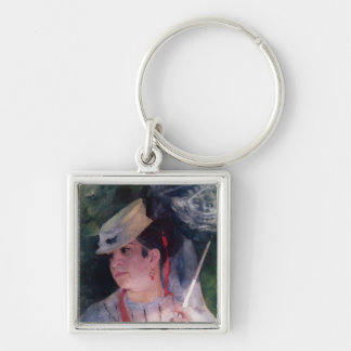 Portrait of Lise, 1867 Keychains