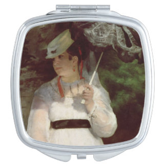 Portrait of Lise, 1867 Mirror For Makeup