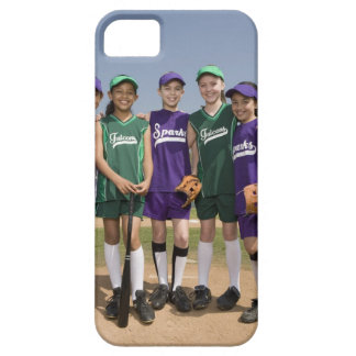 Portrait of little league teams iPhone 5 case