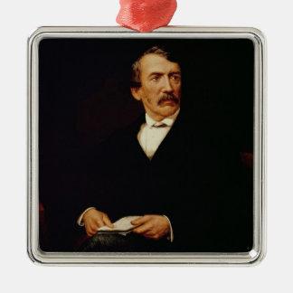 Portrait of Livingstone Christmas Ornament