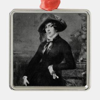 Portrait of Lola Montez , 1844 Christmas Ornament