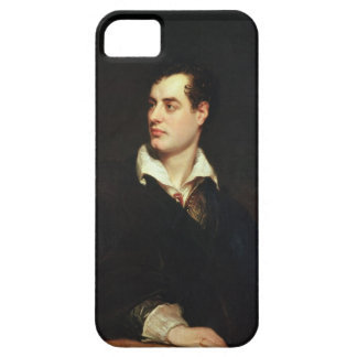 Portrait of Lord Byron (1788-1824) (oil on canvas) iPhone 5 Case