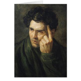 Portrait of Lord Byron Card