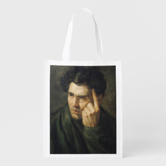 Portrait of Lord Byron Reusable Grocery Bag