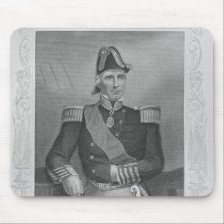 Portrait of Lord Edmund Lyons Mouse Pad
