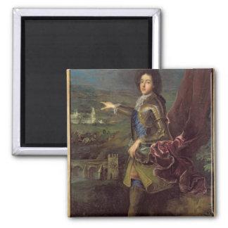 Portrait of Louis Auguste de Bourbon Square Magnet