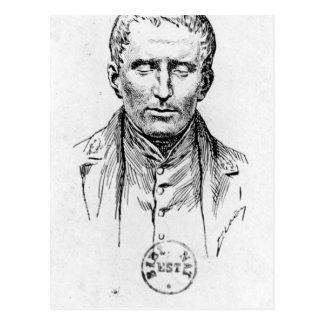 Portrait of Louis Braille Postcard