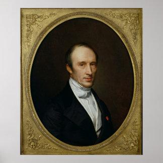 Portrait of Louis Cauchy Poster