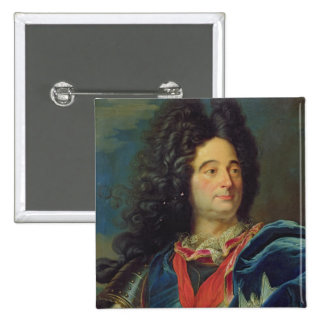 Portrait of Louis-Claude-Hector  Duke of 15 Cm Square Badge