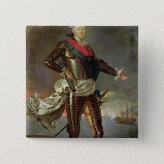 Portrait of Louis-Jean-Marie de Bourbon 15 Cm Square Badge