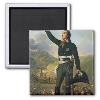 Portrait of Louis-Marie de Salgues  Marquis Square Magnet