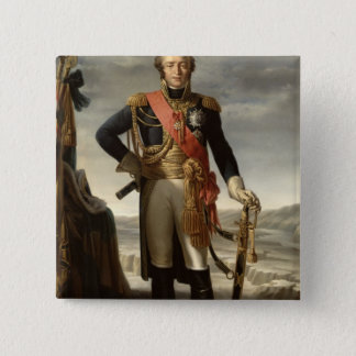 Portrait of Louis Nicolas Davout 15 Cm Square Badge