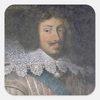 Portrait of Louis of Bourbon  Count of Soissons Sticker