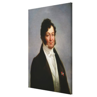 Portrait of Louis-Philippe  King of France Canvas Print