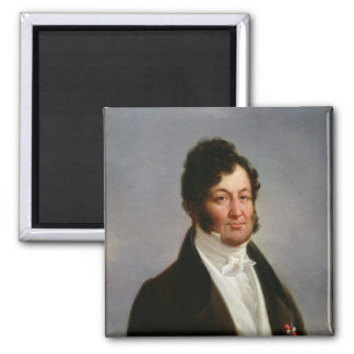 Portrait of Louis-Philippe  King of France Square Magnet
