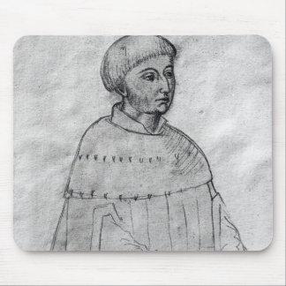Portrait of Louis XI Mouse Mat