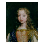 Portrait of Louis XIV as a child Posters