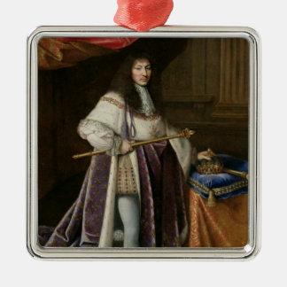 Portrait of Louis XIV Christmas Ornament